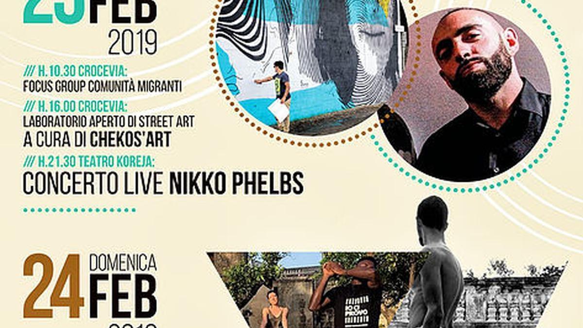 Street Art e Musica in chiusura del Cultura Mondo