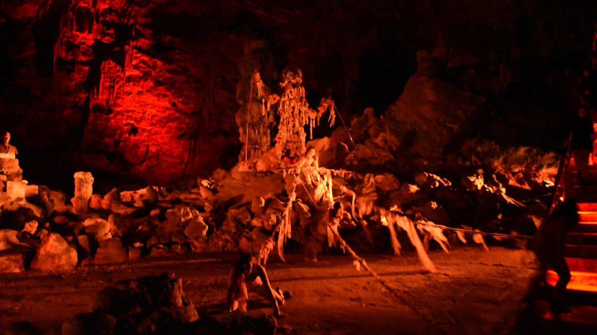 L'Inferno nelle Grotte di Castellana