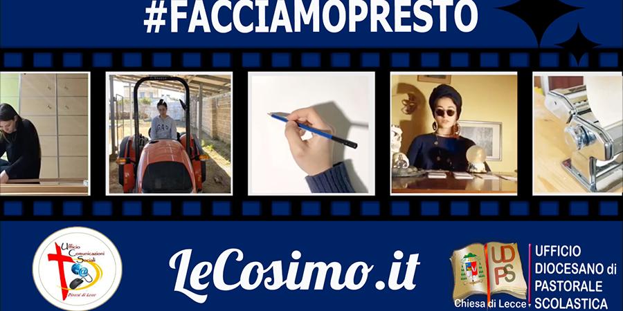 #facciamoscuola diventa #facciampresto