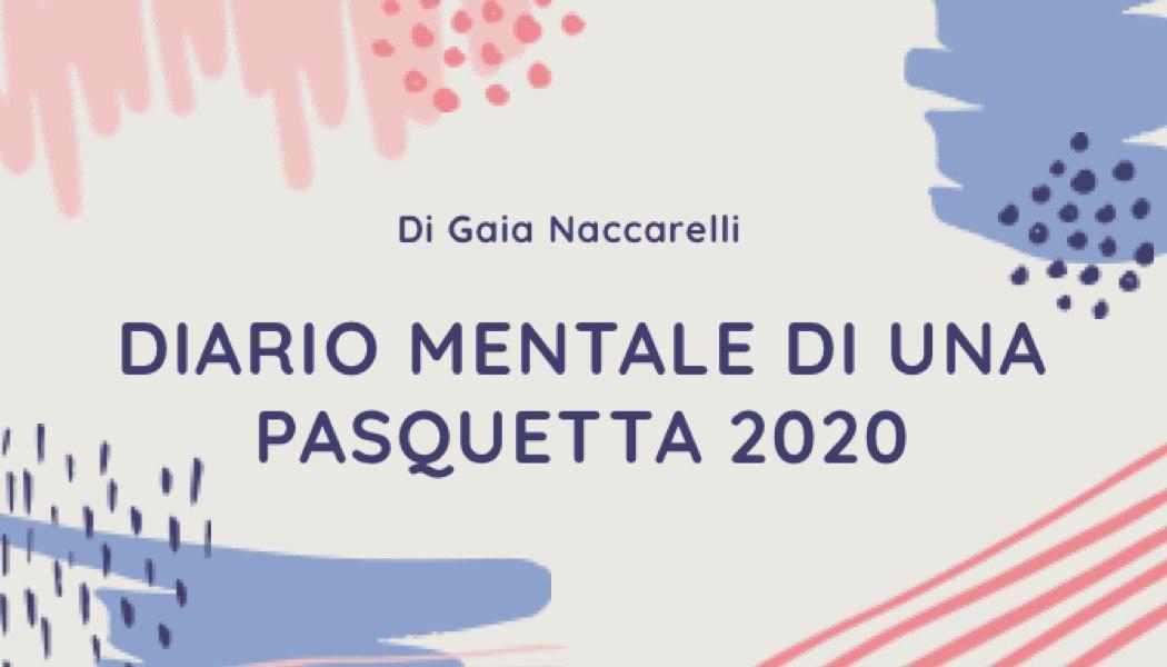 Diario mentale per una Pasquetta 2020
