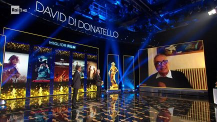 David di Donatello 2020: Cerimonia in videocall