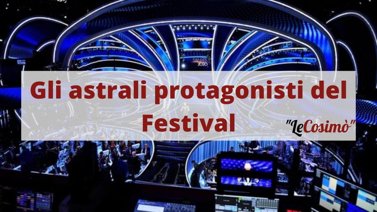 Gli astrali protagonisti del Festival di Sanremo