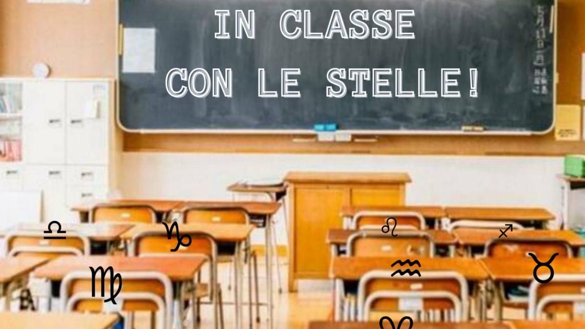 In classe con le stelle