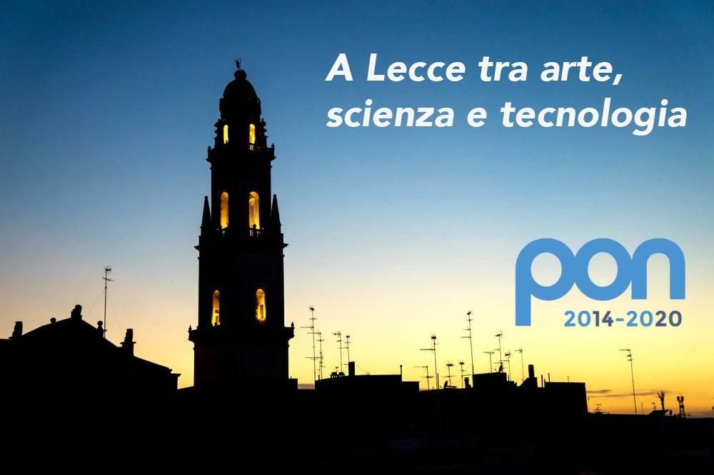 Piano PON, A Lecce tra arte, scienza e tecnologia