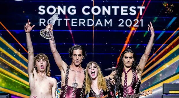 Eurovision, vincono i Måneskin
